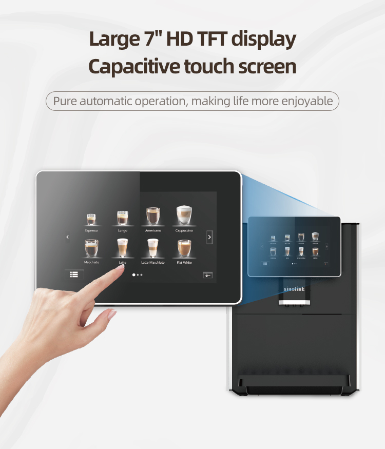 reddot design award Touch Screen Coffee Machine Automatic Makers