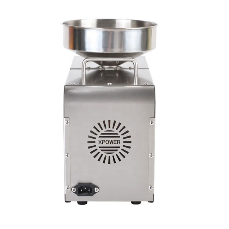 free shipping stainless steel small scale cold press palm coconut sunflower mustard soya bean groundnut oil press machine