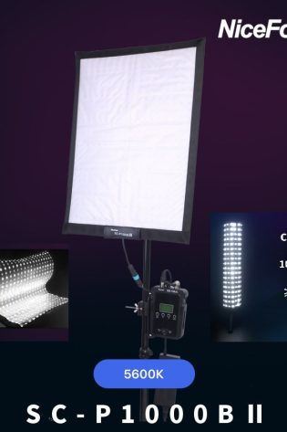 NiceFoto SC-P1000BII 100W LED Video Light