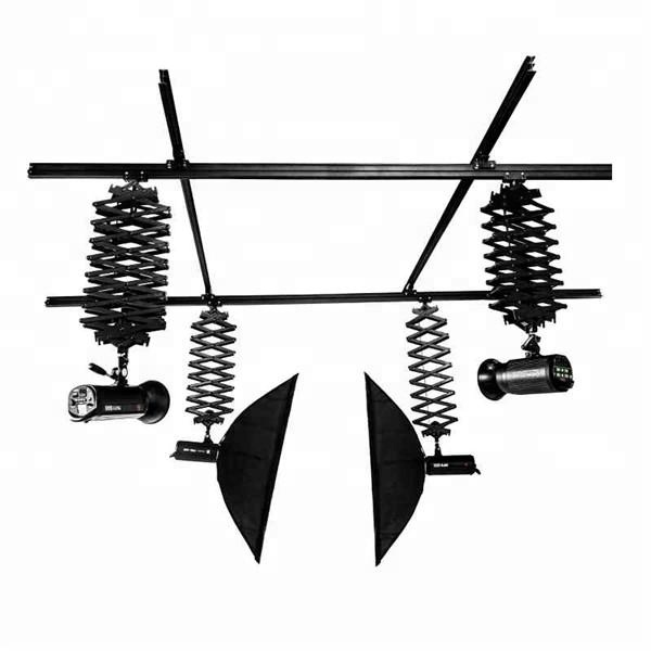 Professional Pantograph Photography Photo Studio Ceiling Rail Track System